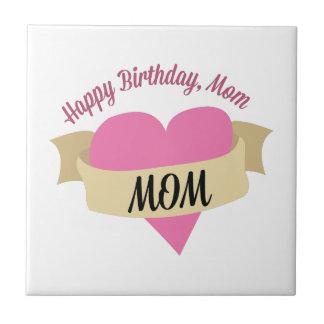 Alles- Gute zum Geburtstagmamma Kleine Quadratische Fliese