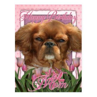 Alles- Gute zum Geburtstagmamma - König Charles Postkarte