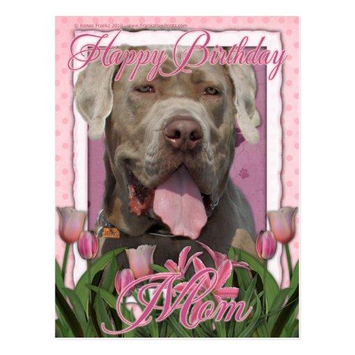 Alles- Gute zum Geburtstagmamma - Mastiff - Neopol Postkarte