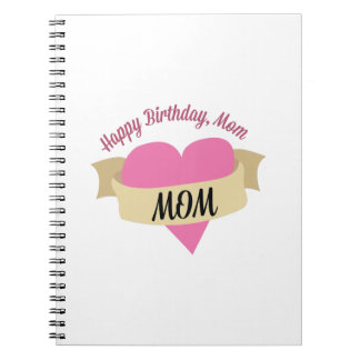 Alles- Gute zum Geburtstagmamma Notizbücher