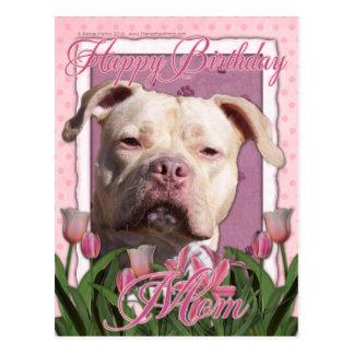 Alles- Gute zum Geburtstagmamma - Pitbull - Postkarten