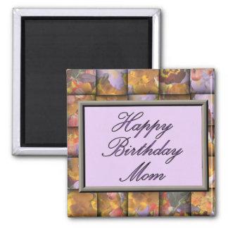 Alles- Gute zum Geburtstagmamma Quadratischer Magnet