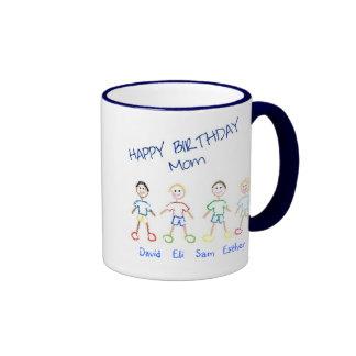 Alles- Gute zum Geburtstagmamma Ringer Tasse