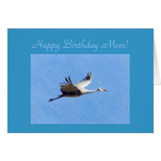 Alles- Gute zum Geburtstagmamma-Schablonen-Karte Grußkarte