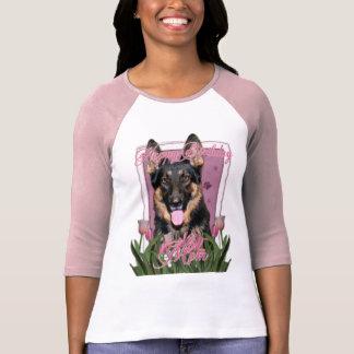 Alles- Gute zum Geburtstagmamma - Schäferhund - Tshirt