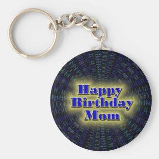 Alles- Gute zum Geburtstagmamma Standard Runder Schlüsselanhänger