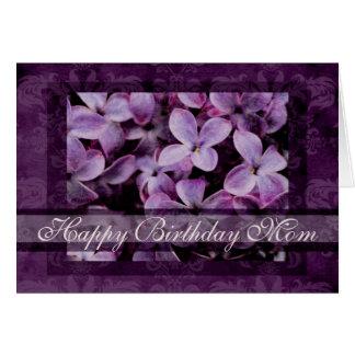 Alles- Gute zum Geburtstagmamma-strukturierte Grußkarte
