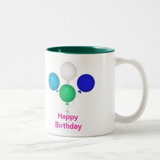 Alles- Gute zum Geburtstagmamma-Tasse Zweifarbige Tasse