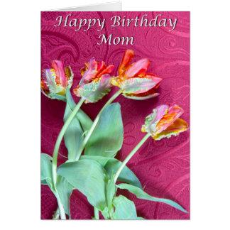 Alles- Gute zum Geburtstagmamma-vibrierende Grußkarte