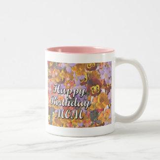 Alles- Gute zum Geburtstagmamma Zweifarbige Tasse