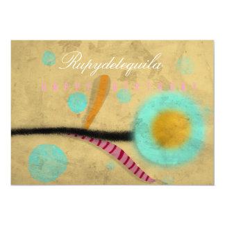 Alles- Gute zum Geburtstagmohnblumen-Einladung 12,7 X 17,8 Cm Einladungskarte
