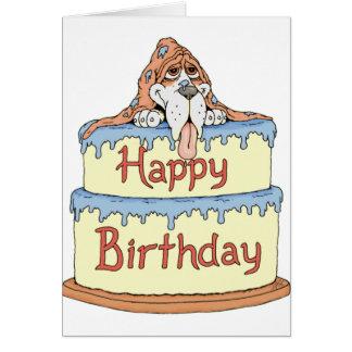 Alles- Gute zum Geburtstagnormanne Karte