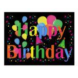 Alles- Gute zum GeburtstagParty-Ballone Postkarten