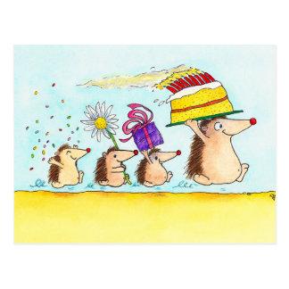 Alles Gute zum Geburtstagpostkarte durch Nicole Postkarte