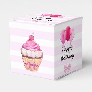 Alles- Gute zum Geburtstagrosa-Kirschkleiner Geschenkschachtel