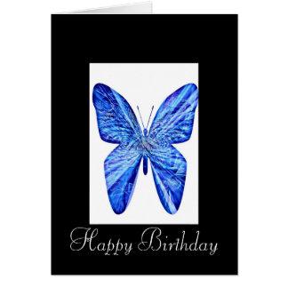 Alles- Gute zum Geburtstagschmetterling Grußkarte
