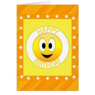 Alles- Gute zum GeburtstagSmiley-Gewohnheit Karte