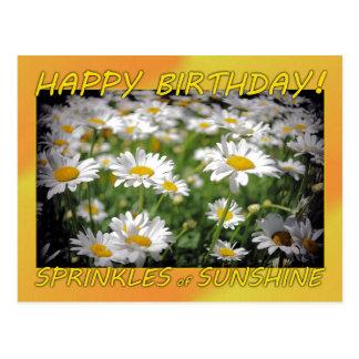 Alles- Gute zum Geburtstagsonnenschein Postkarte