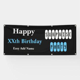 Alles- Gute zum Geburtstagüberraschungs-Party Banner