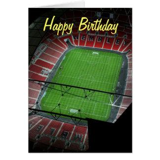 Alles- Gute zum GeburtstagWembley Stadium Grußkarte
