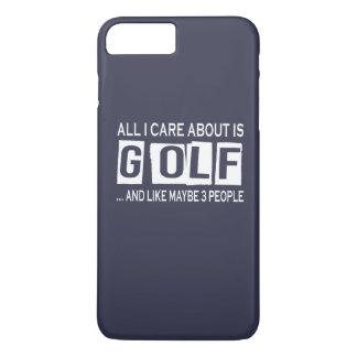 Alles i-Sorgfalt ist ungefähr Golf iPhone 8 Plus/7 Plus Hülle