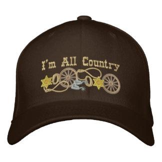 Alles Land-Western-Thema Bestickte Mütze