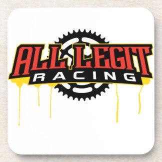 Alles Legit-Teller-Logo Getränkeuntersetzer