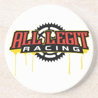 Alles Legit-Teller-Logo Untersetzer