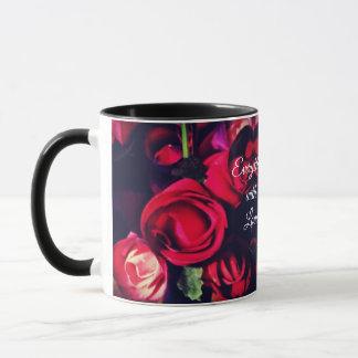 Alles mit Liebe - Rosen-Herz-Tasse Tasse