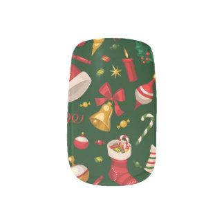 Alles Sache-Weihnachten Minx Nagelkunst