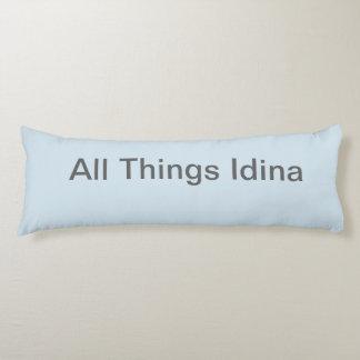 Alles Sachen Idina hellblaue Kissen