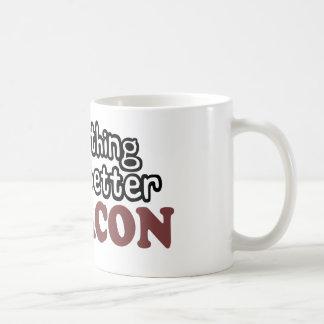 alles schmeckt besseren Speck Kaffeetasse