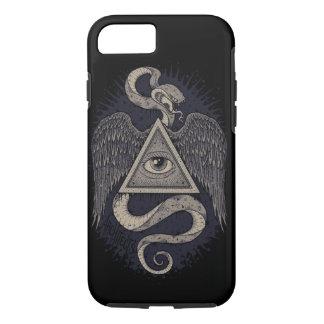 Alles sehende Auge, geheimnisvolle Telefon-Hüllen iPhone 7 Hülle