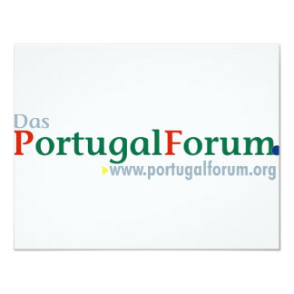 Alles zum PortugalForum 10,8 X 14 Cm Einladungskarte