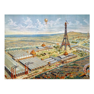Allgemeine Ansicht der universellen Ausstellung Postkarte