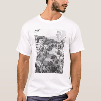 Allgemeine Ansicht des Kampfes von Muhlberg T-Shirt