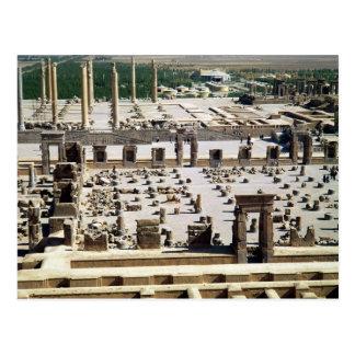 Allgemeine Ansicht des Palastes, Achaemenian Postkarte