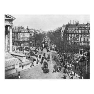 Allgemeine Ansicht des Platzes de la Madeleine Postkarten