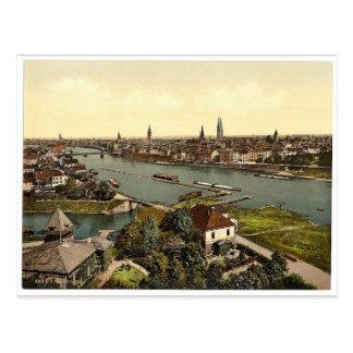 Allgemeine Ansicht, Klassiker Photochrom Bremens, Postkarte