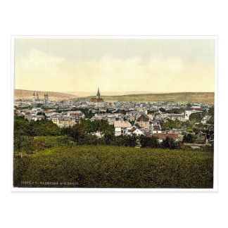 Allgemeine Ansicht, Naumburg auf dem Saale, Postkarte