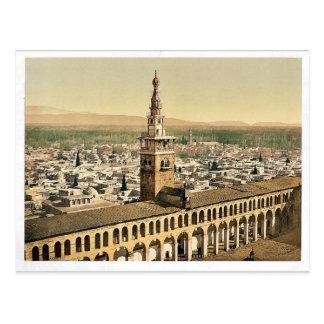 Allgemeine Ansicht und Minarett der Braut, Postkarte