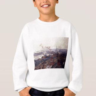 Allgemeine Ansicht von Rouen von St.Catherines Sweatshirt