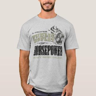Allgemeine Anzeige von Pferdestärken T-Shirt