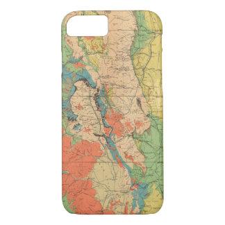 Allgemeine geologische Karte von Colorado iPhone 8/7 Hülle