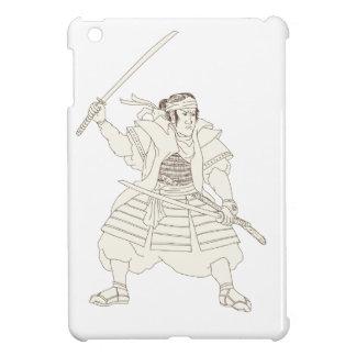 Allgemeine Raben-Fliegen-Mandala iPad Mini Hülle