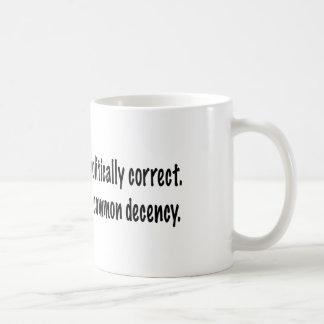 Allgemeiner Anstand Kaffeetasse