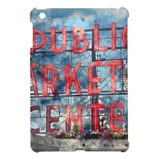 Allgemeiner Markt-Mitte in Seattle Washington iPad Mini Hülle