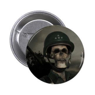 Allgemeiner Todesknopf Runder Button 5,7 Cm