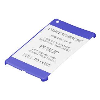 Allgemeines Telefonzellezeichen iPad Mini Hülle