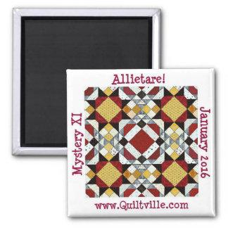 Allietaire Magnet Quadratischer Magnet